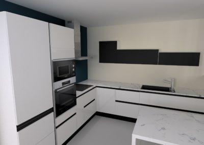 projet cuisine 3D dordogne rêves et confort